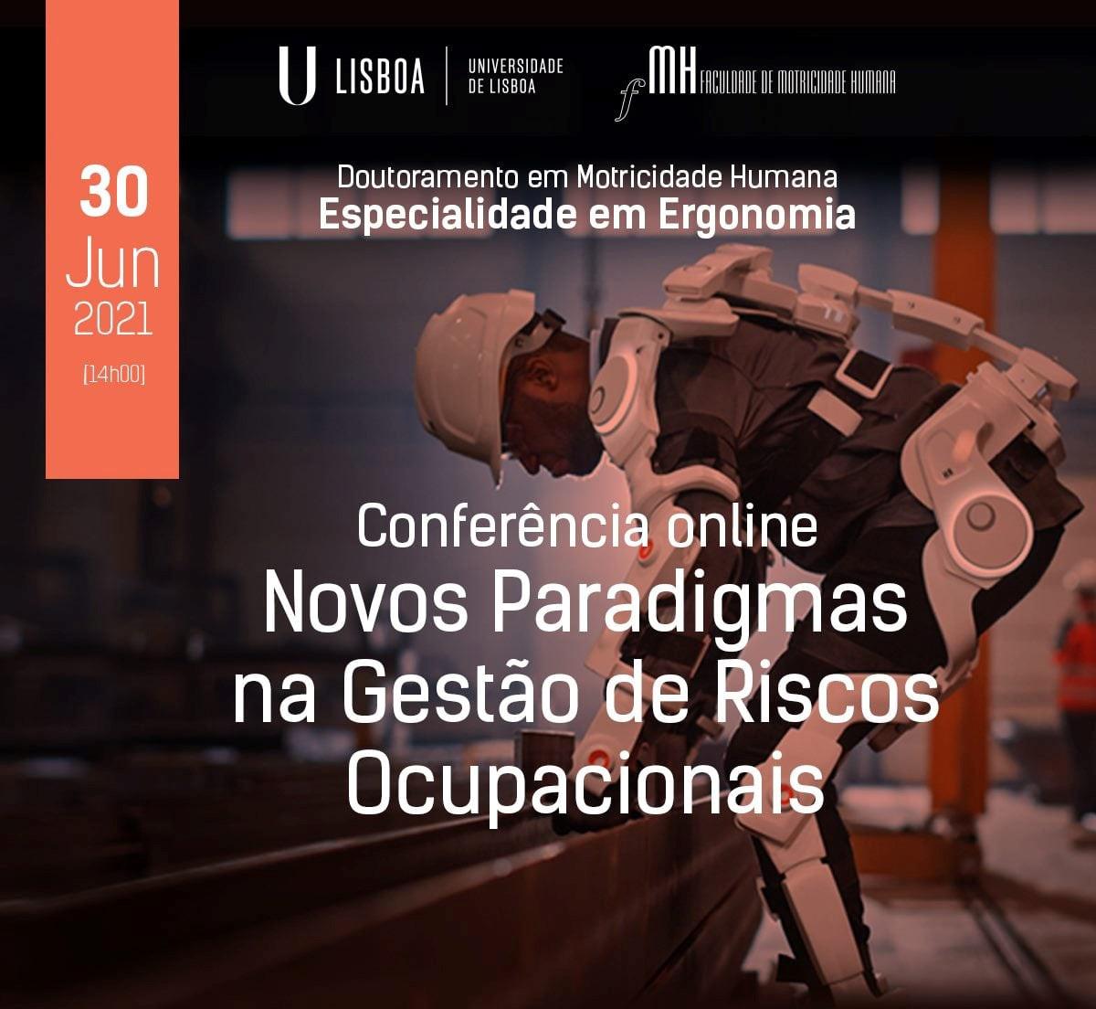 Conferência – Novos Paradigmas na Gestão de Riscos Ocupacionais